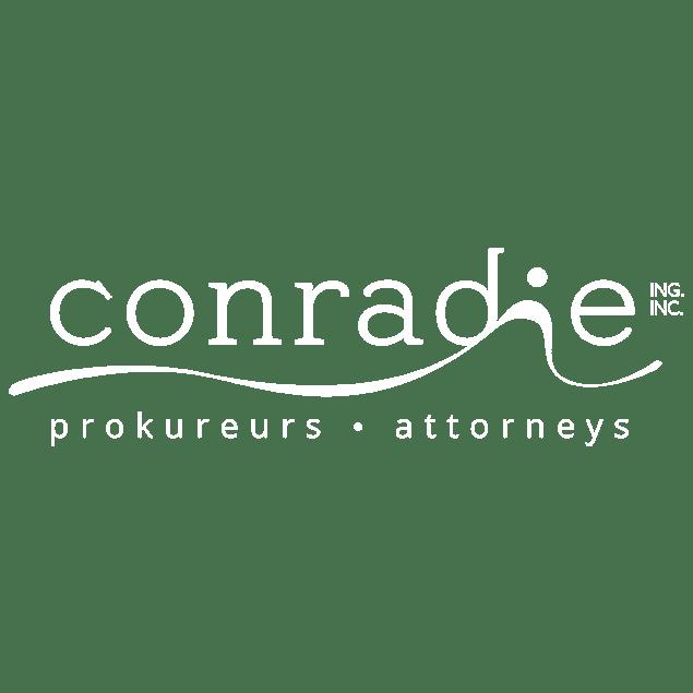 Conradie logo white